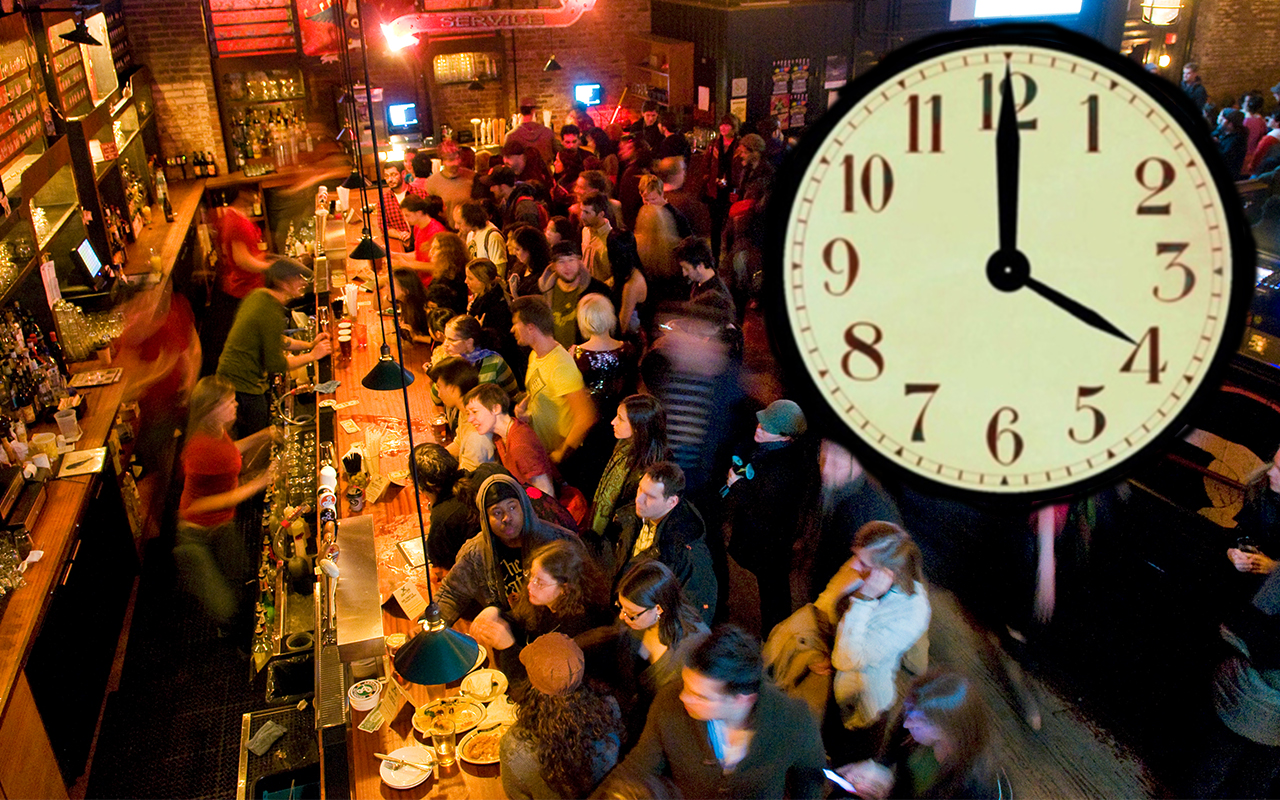 California Bars To Close At 4AM?